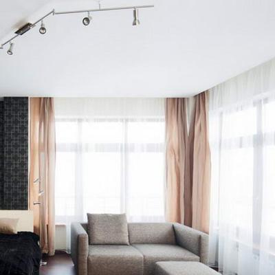 Белые тканевые потолки цены